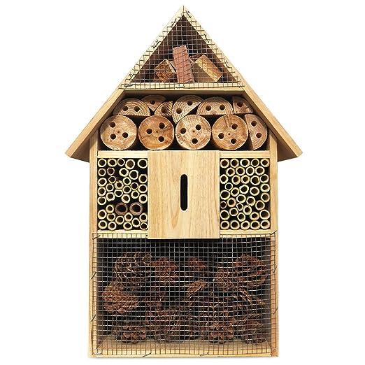 Nidal para insectos o abejas, incubadora, tamaño XXL, 48 cm: Amazon.es: Jardín