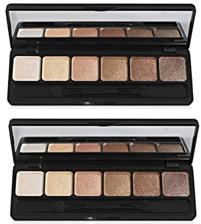 e.l.f. Prism Eyeshadow, Naked, 0.42 Ounce, 2 Pack