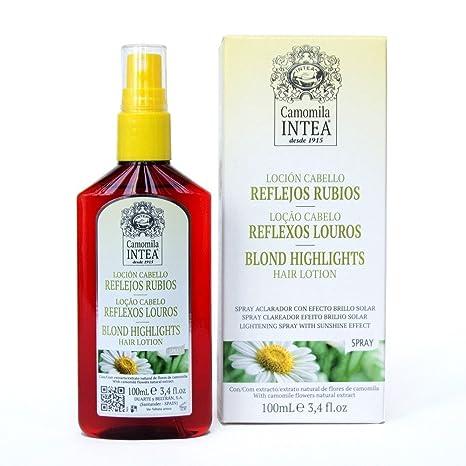 Camomila Intea, Loción para cabello (reflejos rubios) - 100 ml.