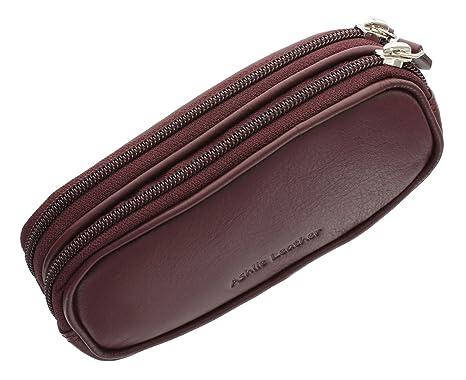 Ashlie Leather Funda de Gafas Doble de Cuero estilo 4301_21 Morera
