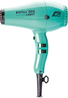 Parlux Hair Dryer 385 Power Light - Secador de pelo, color azul cielo