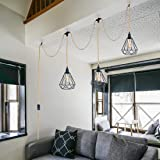 Triple Pendant Light Cord Kit with Independent