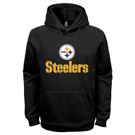 super popular 9ebe0 b3a30 Amazon.com : Outerstuff Pittsburgh Steelers Black NFL Kids ...