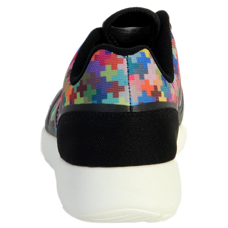 Basket Asfvlt Super Tech Pixel Multicolor Noir Noir Achat