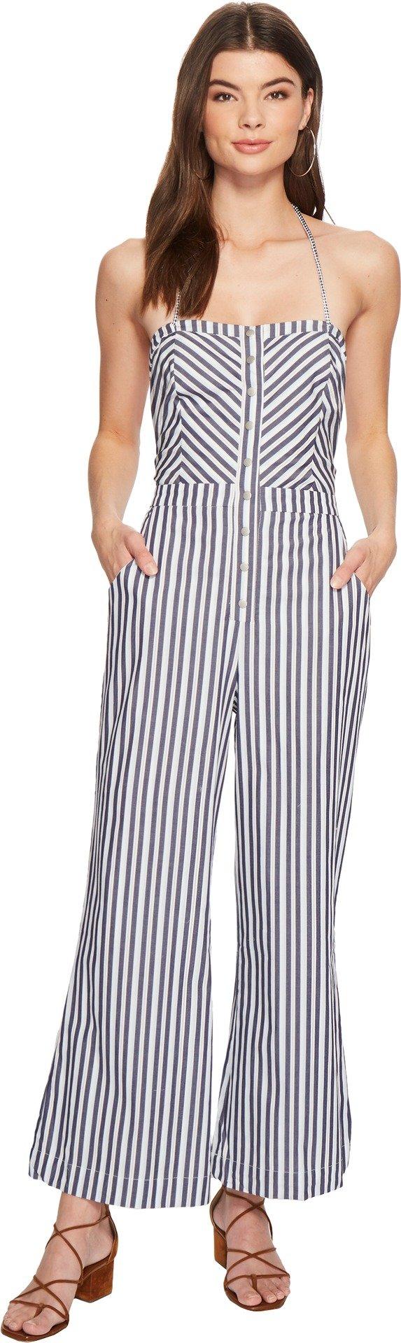 The Jetset Diaries Women's Cornflower Jumpsuit Stripe Small