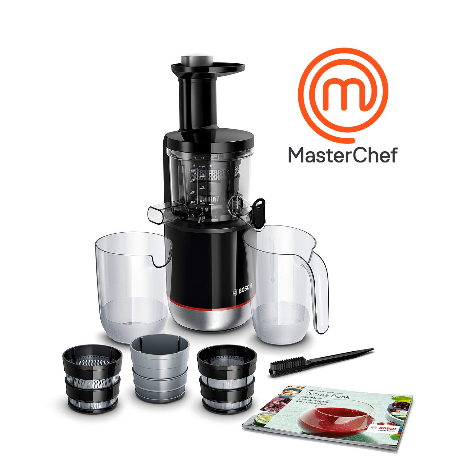 Gastroback 40145 Slow Juicer Advanced Vital Entsafter 150 Watt 70 U//min.