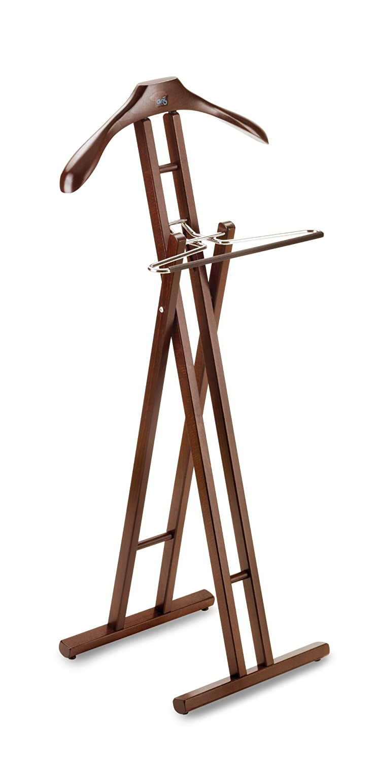 KLAPP - Folding Valet in Solid Wood - Handcrafted in Italy - Wenge Finish ARIS