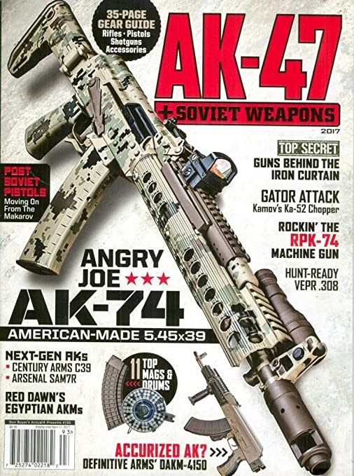 Amazon com : AK-47 & SOVIET WEAPONS Magazine 2017 # 193
