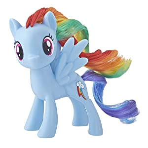 My Little Pony Mane Pony Rainbow Dash Classic Figure