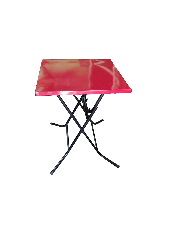 s k modern art metal folding table top