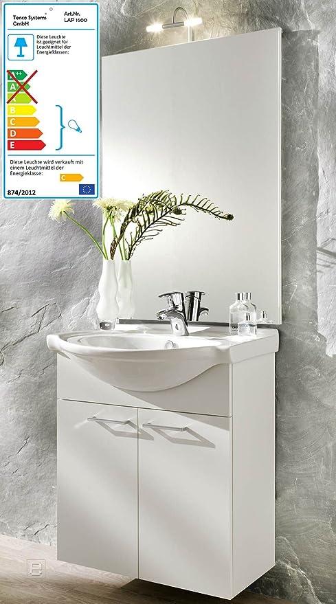 Berühmt Posseik Bad Waschplatz YORK weiss, 2-tlg, Waschbecken-Unterschrank YC28