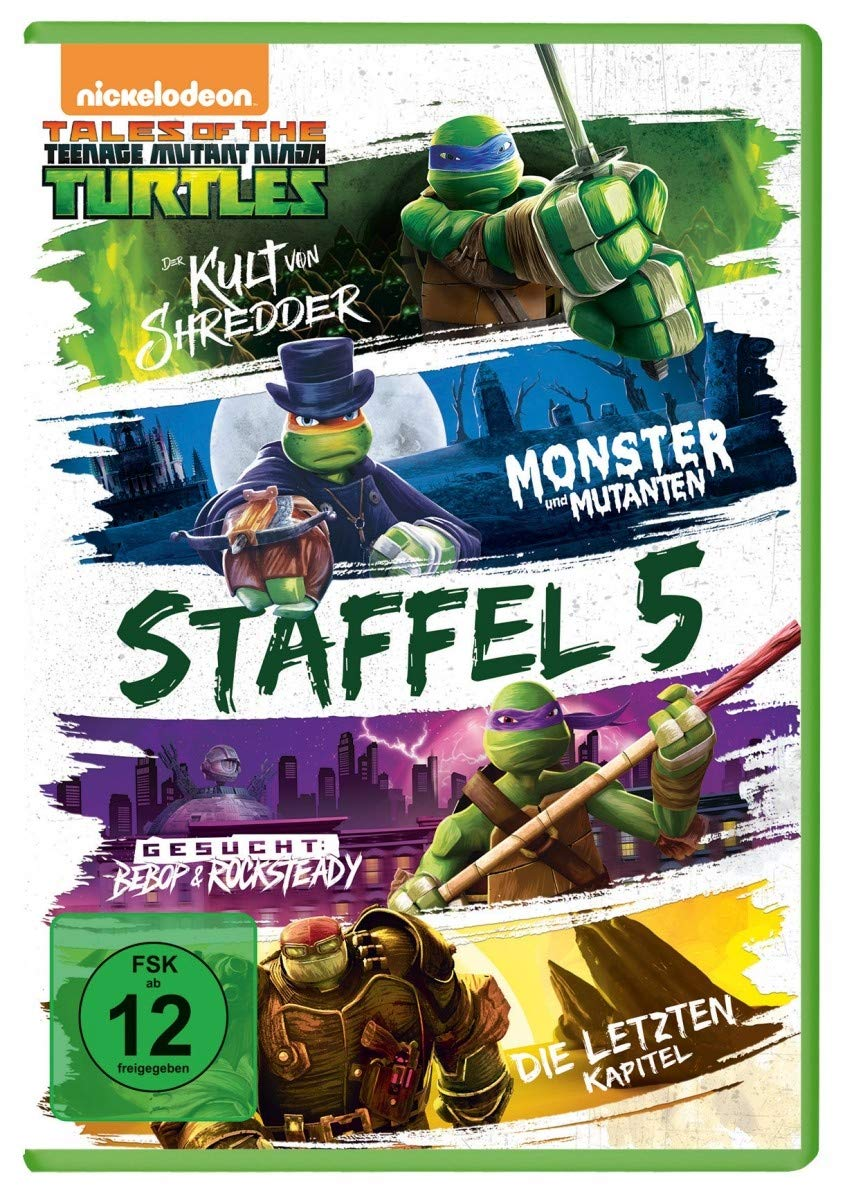 Teenage Mutant Ninja Turtles - Season 5 Alemania DVD: Amazon ...