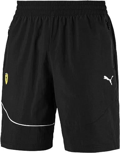 Amazon Com Puma Men S Scuderia Ferrari Summer Shorts Clothing