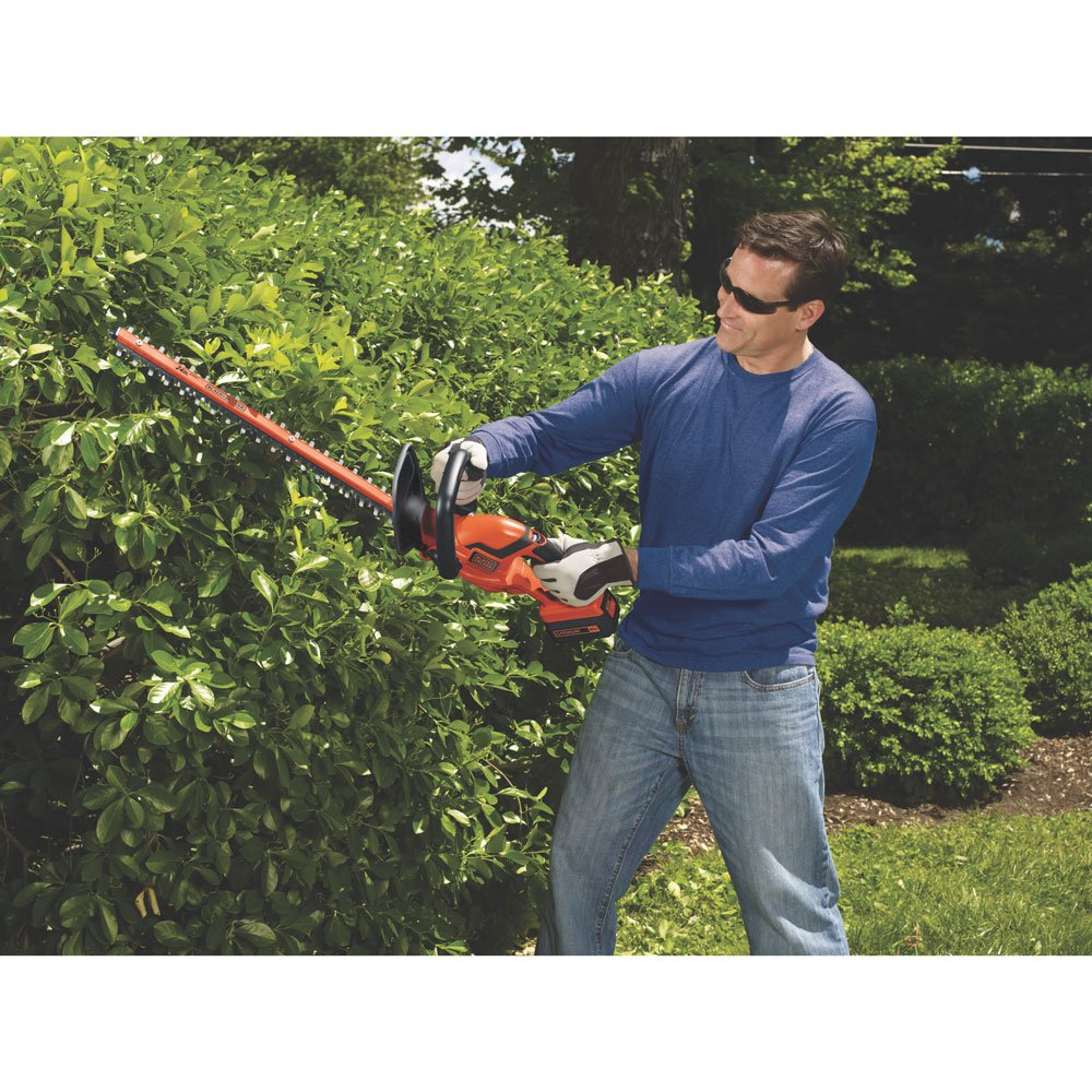 $119.99 (was $194) BLACK + DECKER LHT2436 40 Volt MAX* Lithium Ion Hedge Trimmer