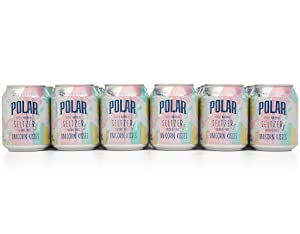 Polar 100% Natural Seltzer Jr Winter Variety Unicorn Kisses Unleash your inner unicorn 24 x 8 oz