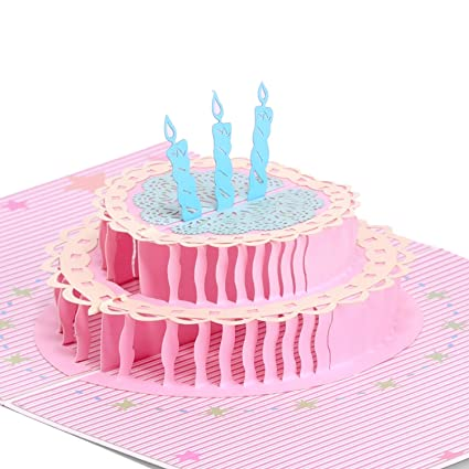 Amazon Paper Spiritz Pop Up Birthday Card With Envelopes 3d