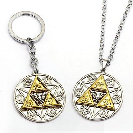 The Legend Of Zelda Majoras Mask Necklace Pendant /& Deluxe Link Lanyard Set of 2