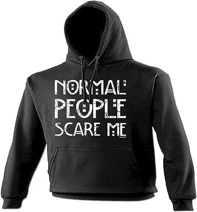 Normal People Scare Me Funny Kids Childrens Hoodie Hoody