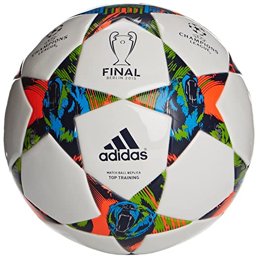 13 opinioni per Pallone Finale Berlin Top Training Bianco Blu Verde 14/15 Adidas