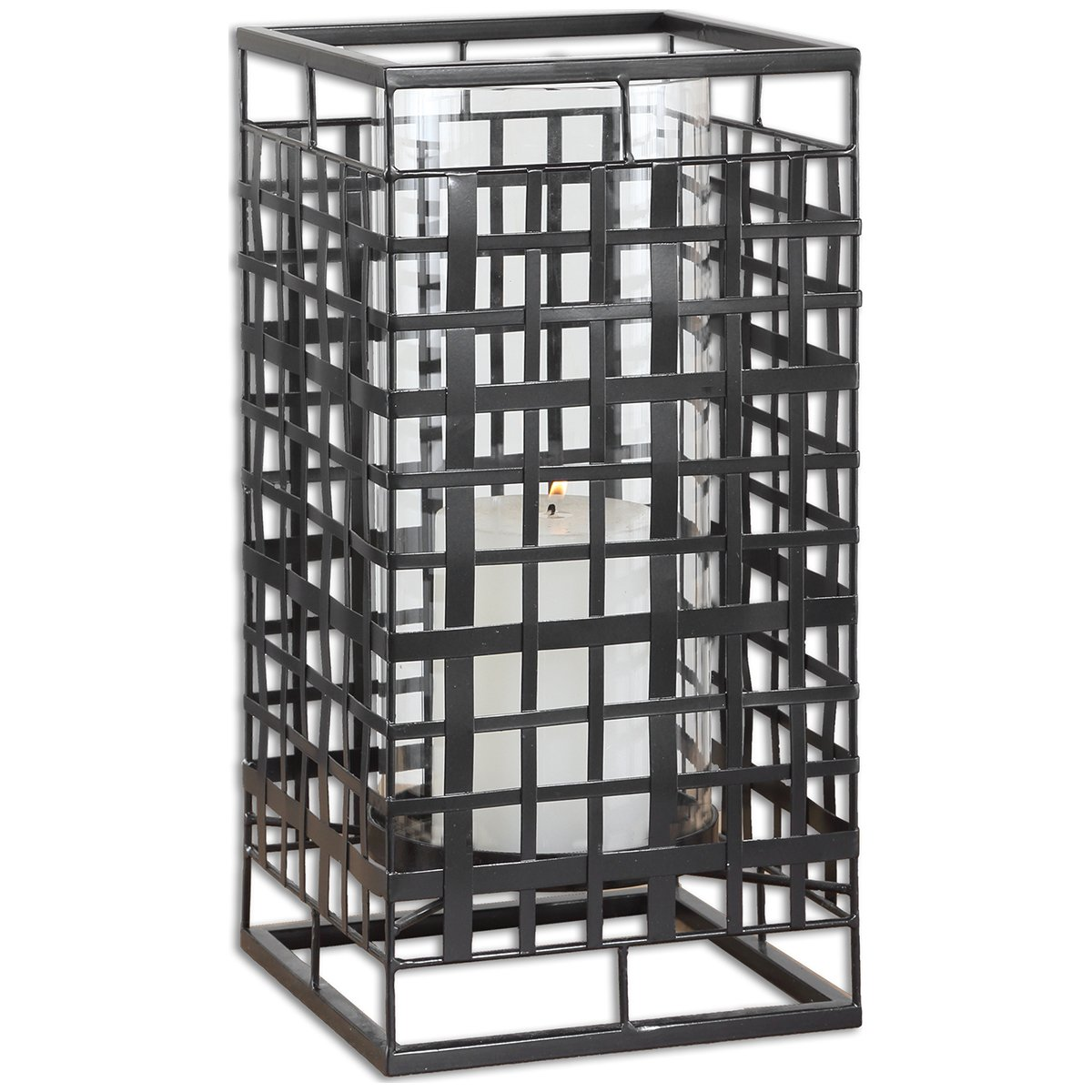 Uttermost 19973 Caged in Metal Candleholder by Uttermost