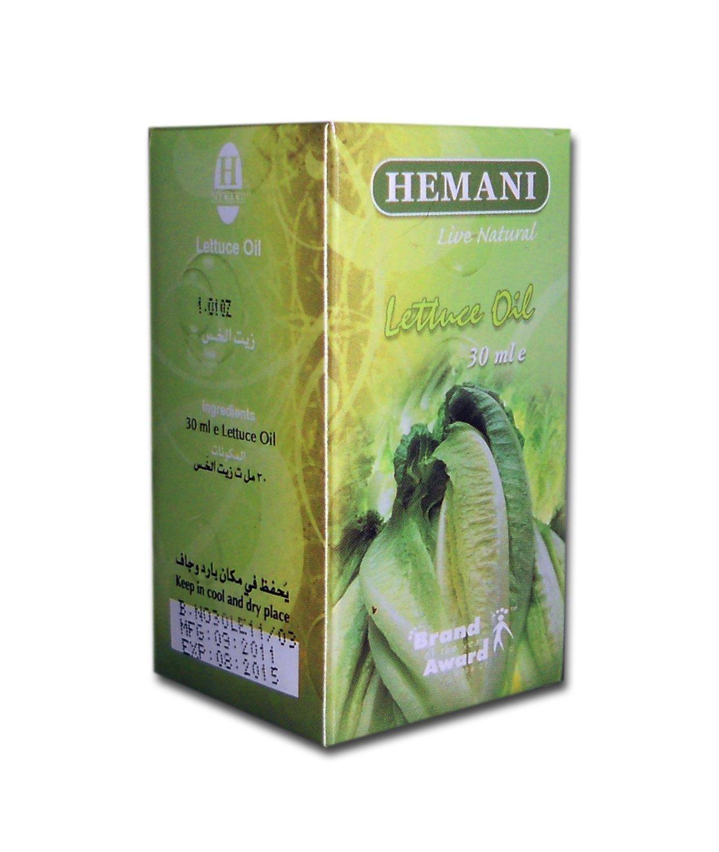 Hemani Lettuce 100% Natural Cold Pressed Halal Essential Oil - 30ml
