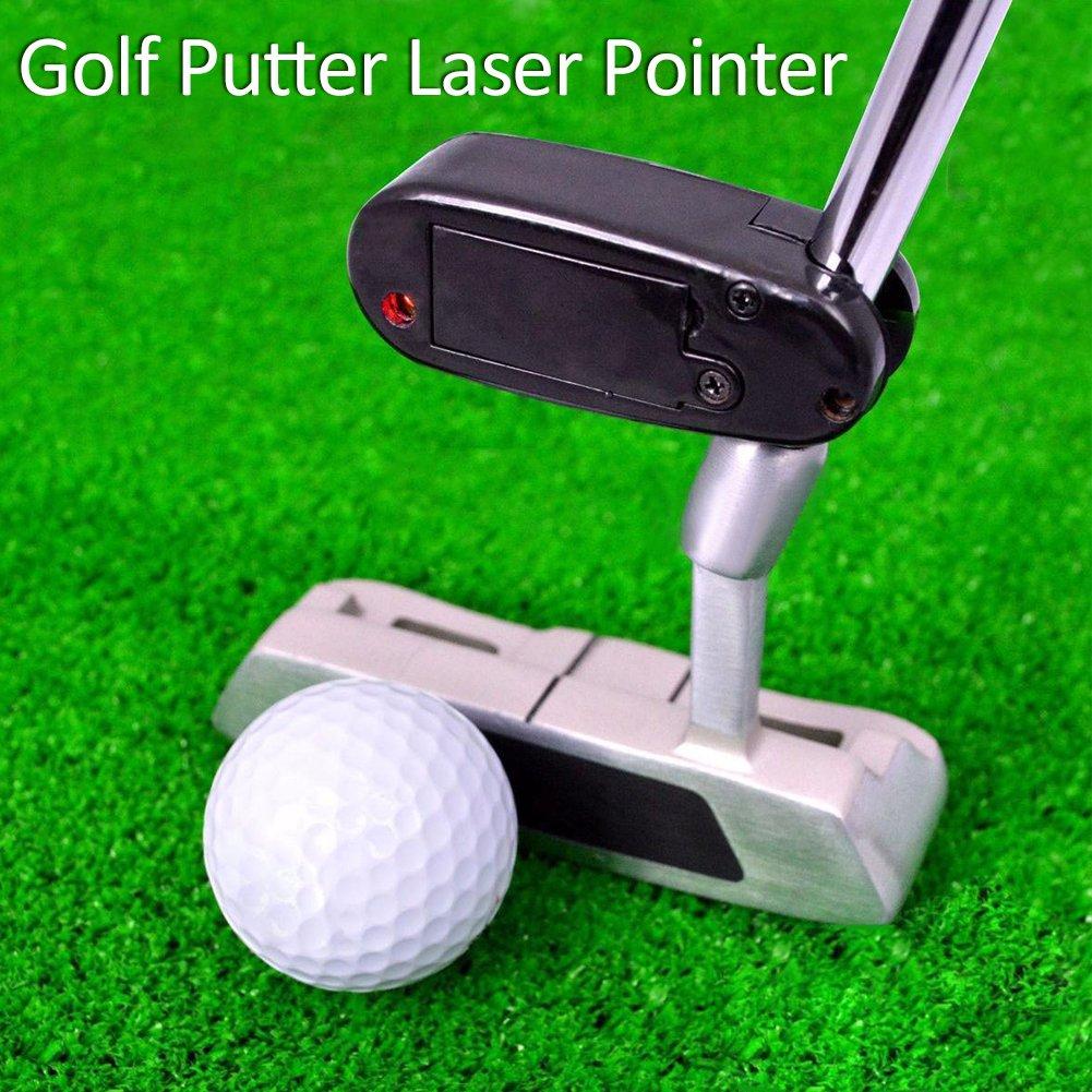 Amazon.com: juiciatrendz negro Golf Putter puntero láser ...