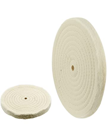 Tools Reasonable 6 Inch T-shaped White Cotton Cloth Polishing Wheel Mirror Polishing Buffer Cotton Pad With 10mm Hole For Metal Car Polishing