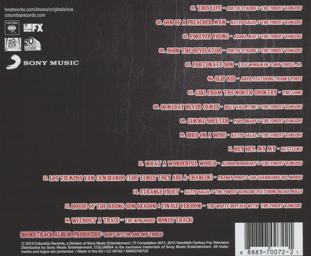 Buy Songs of Anarchy: Music F Online at Low Prices in India   Amazon ...