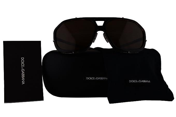 505d60682e52 Dolce & Gabbana Authentic Sunglasses DG2167 Havana w/Brown Lens 0473 ...