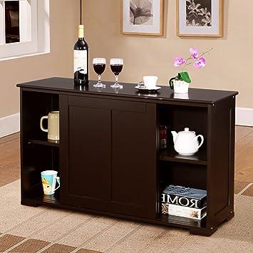 Amazon Costway Kitchen Storage Cabinet Sideboard Buffet