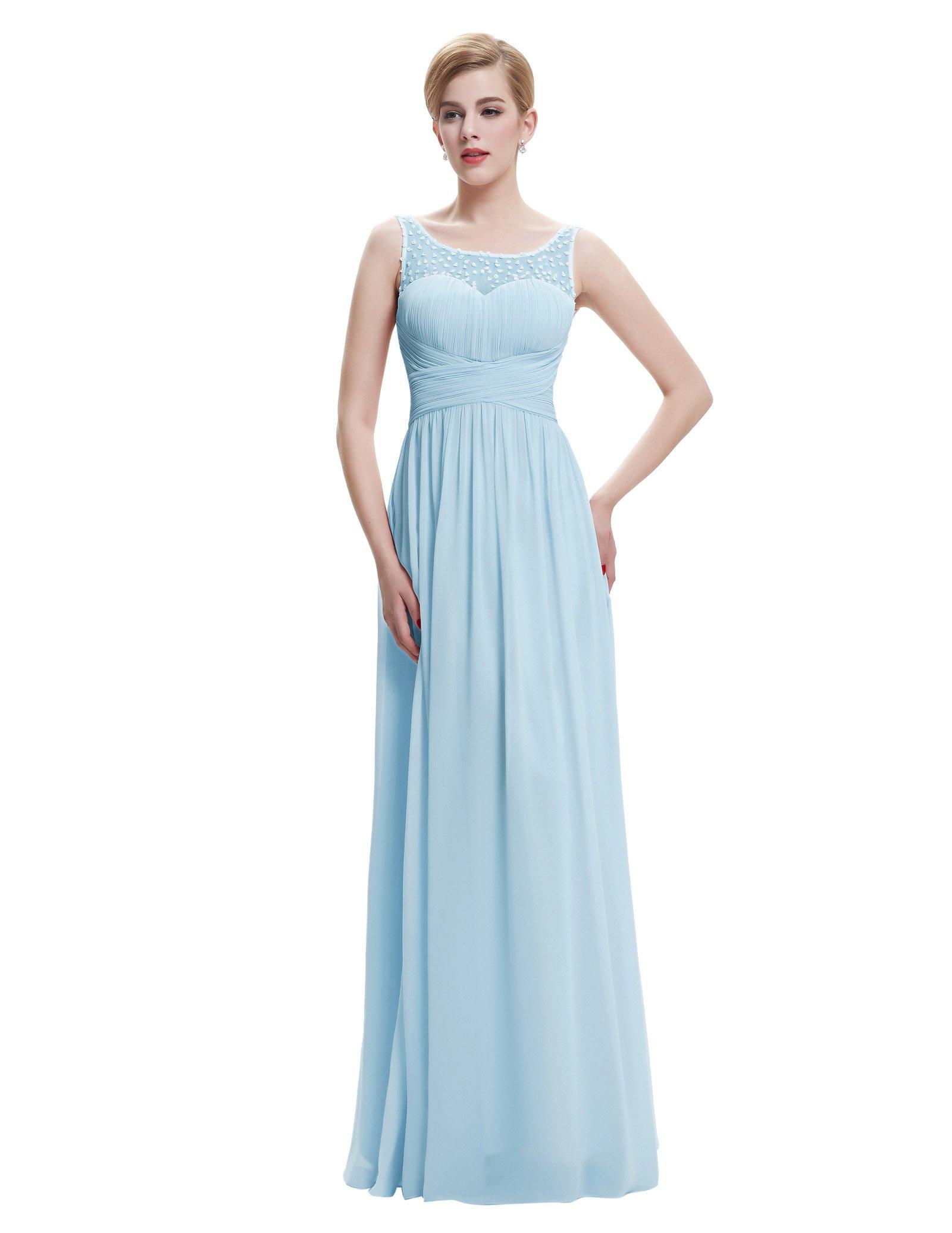 Blue Bridesmaid Dress: Amazon.co.uk