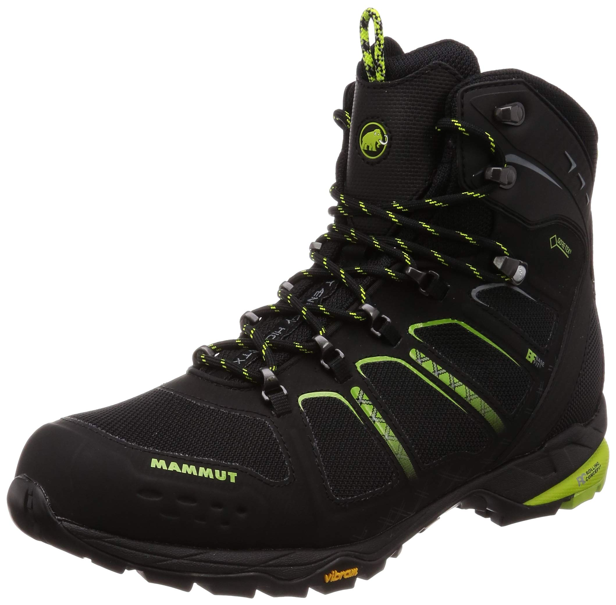 Mammut T Aenergy High GTX Boot - Men's Black/Sprout, 9.0