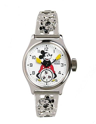 Pedre Unisex reproducción de la Original 1933 Mickey Mouse Reloj. Los Buques Libre.: Pedre: Amazon.es: Relojes