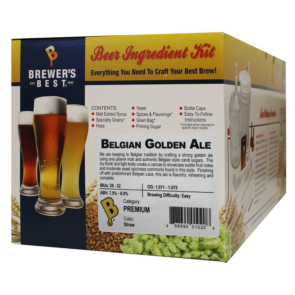 Brewer Best Best 1020 Belgian Golden Ale Ingredient Package (Premium), Multicolor, 5 Gallon
