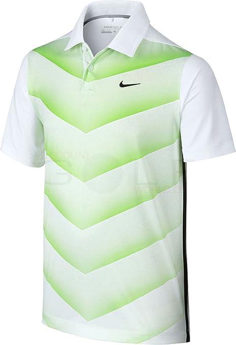 Nike Hombres de Tiger Woods TW VL Hypercool Fade Polo Golf ...