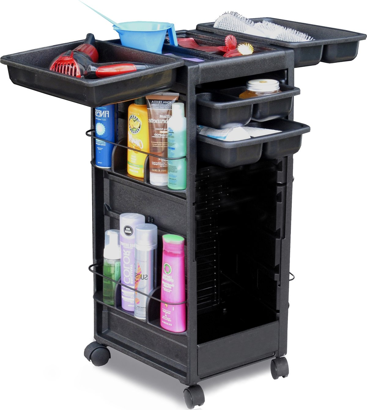 N20-FF Salon Trolley ROLL-About Rolling CART Non Lockable Made in USA by Dina Meri