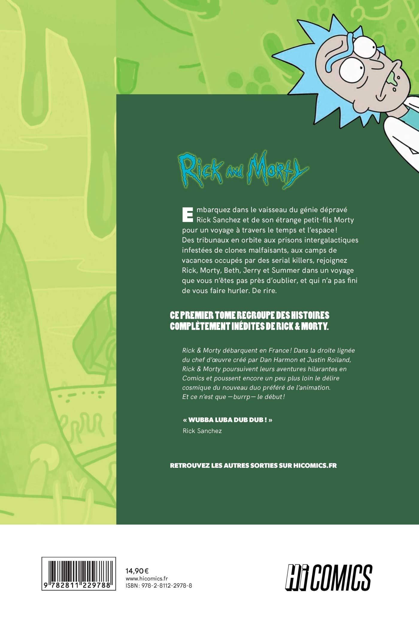 Rick and Morty, T1 (HiComics): Amazon.es: Gorman, Zac, Cannon, C. J.: Libros en idiomas extranjeros