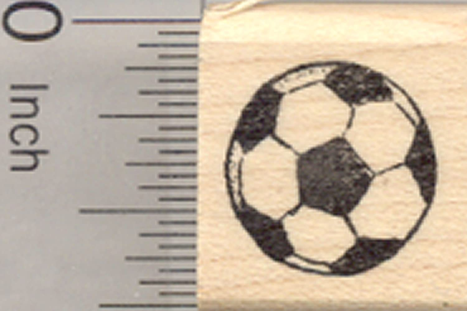 Small Soccer Ball Rubber Stamp, Association Football Rubberhedgehog Rubber Stamps A29103