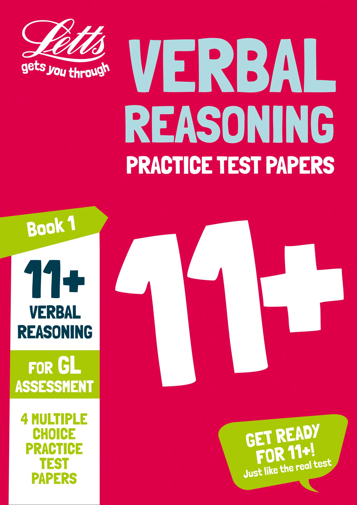 11 Verbal Reasoning Practice Test Papers Multiple Choice