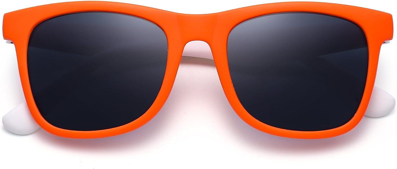 JM Polarizadas Ni/ños Gafas de Sol Goma Chicas Chicos Hijos Flexible Anteojos A/ños 3-12