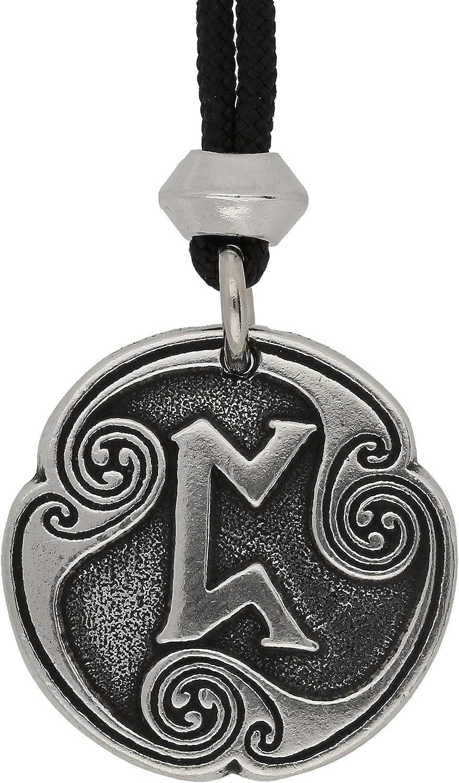 Viking nordique Perthro Rune of Luck 20e runique Lettre en étain ...
