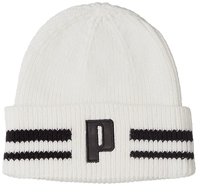 ae4d7c19 Puma Unisex Retro Beanie Cap (White): Amazon.in: Clothing & Accessories