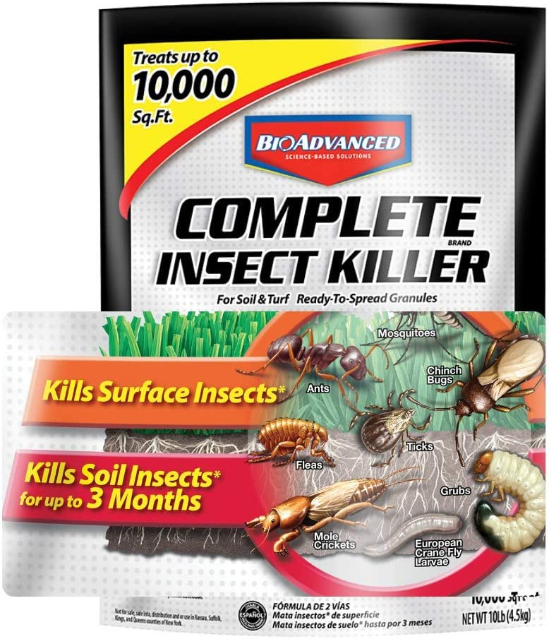 BioAdvanced Insect Killer for Soil & Turf Complete Pest Control