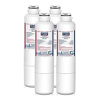 4 x Vyair vyr-27 a hielo y agua filtro de frigorífico para Samsung DA29