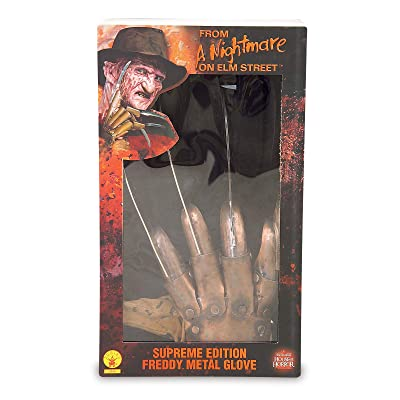 Rubie's Costume Co Freddy Glove Metal Dlx: Toys & Games