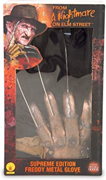 Deluxe Freddy Krueger Gloves (accesorio de disfraz): Amazon.es ...