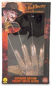 Deluxe Freddy Krueger Gloves (accesorio de disfraz): Amazon.es ...