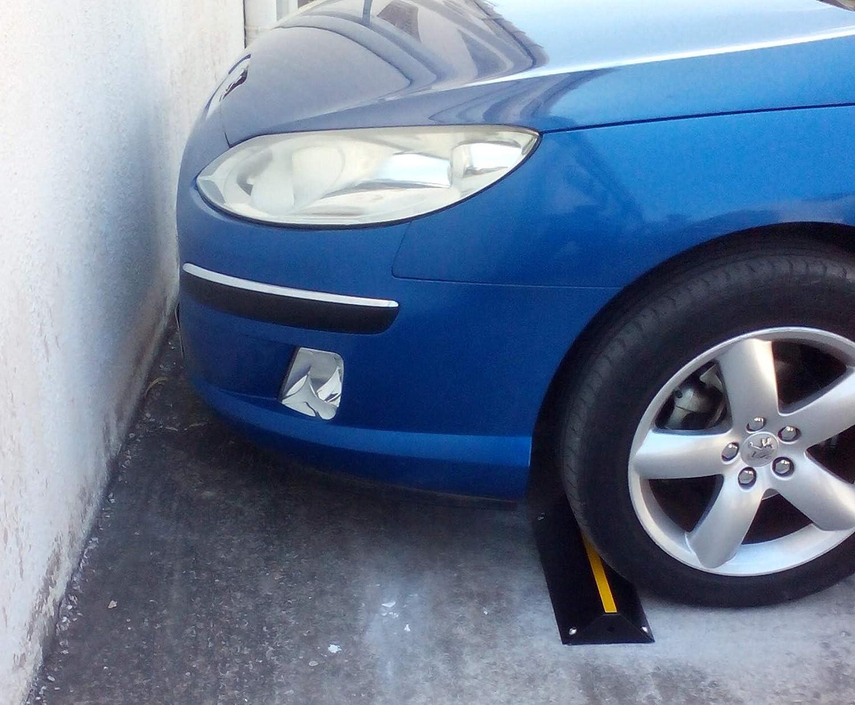 pour Les Parkings et Garages 42x16x7 cm r/éalis/é en Acier Pack de 2 SNS SAFETY LTD SWS-42x2 Butoir de Parking /à Hauteur R/éduite