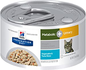 Hill's Prescription Diet Metabolic + Urinary, Weight + Urinary Care Cat Food