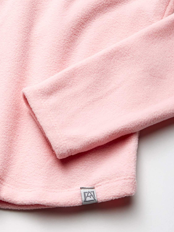 Avalanche Girls Big Quarter Zip Fleece Pullover Top